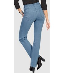 jeans dress in blauw