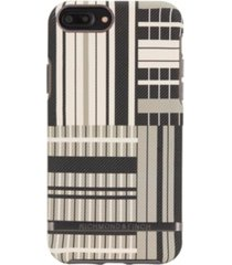 richmond & finch platinum stripes case for iphone 6/6s plus, 7 plus and 8 plus