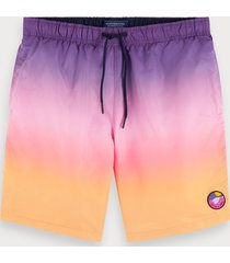 scotch & soda gradient swim shorts