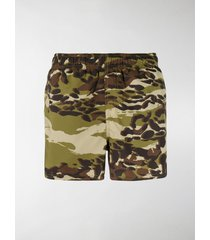 givenchy camouflage printed swim shorts