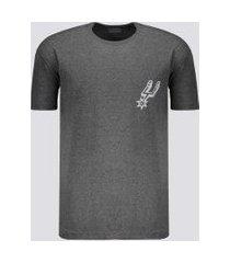 camiseta nba san antonio spurs estampada grafite mescla