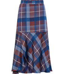 kjol modern check skirt