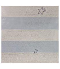 papel de parede para menino listras azul e branco