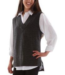 bcx juniors' sweater vest