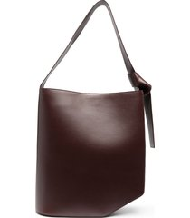 christian wijnants oversized asymmetric tote bag - red