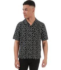 mens all over print short sleeve shirt