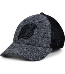 authentic nhl headwear new jersey devils 2020 tnt black ice mesh flex cap