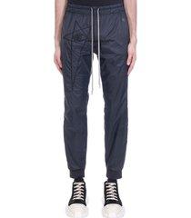 rick owens pants in black polyamide