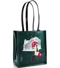 dani accessories rongrong girl graphic large tote bag