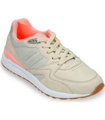 tenis beige north star wench r mujer