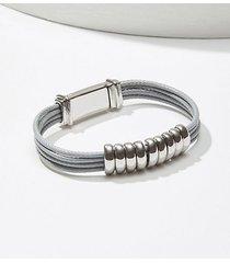 loft stacked ring bracelet