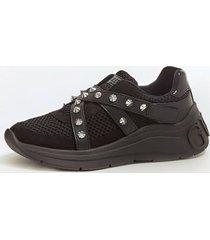 buty typu slip-on z paskiem i wstawkami model stonely