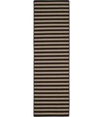"safavieh four seasons ivory and brown 2'3"" x 8' sisal weave runner area rug"