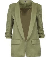 blazer met glans lola  groen