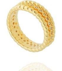 anel dona diva semi joias aparador feminino