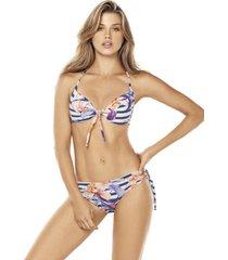bikini push up multicolor lisantino