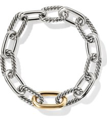 david yurman 18kt bonded yellow gold detail dy madison medium bracelet