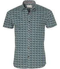 no excess overhemd - modern fit - groen