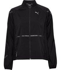 runner id jacket outerwear sport jackets zwart puma