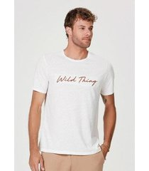 camiseta hering regular com bordado masculina - masculino