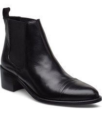 biacarol dress chelsea shoes boots ankle boots ankle boot - heel zwart bianco