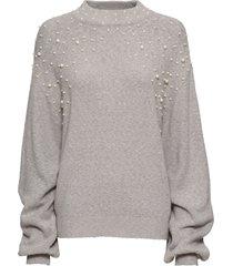 maglione con perle (grigio) - bodyflirt