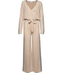 angela jumpsuit beige line of oslo