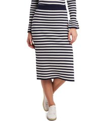 riley & rae perla striped sweater midi skirt, created for macy's