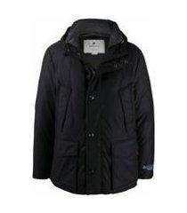 woolrich jaqueta matelassê azul marinho