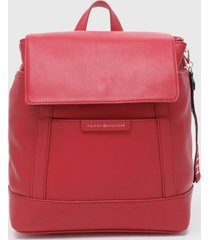mochila mini backpack rojo tommy hilfiger