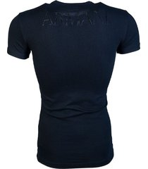 emporio armani heren t-shirt - black