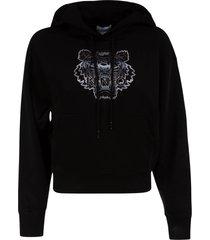 kenzo gradient tiger boxy hoodie