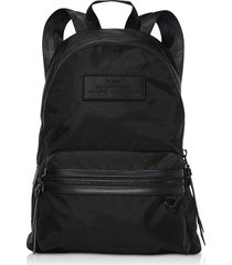 marc jacobs designer handbags, black nylon the large backpack dtm