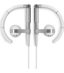 audífonos bluetooth deportivos, b & o earset 3i mejor auriculares con cancelación de ruido sport running earphone (blanco)