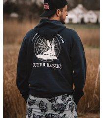 volcom x outer banks bahamas men's pullover sweatshirt