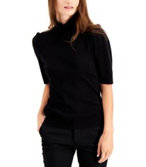 alfani turtleneck elbow-sleeve sweater, created for macy's
