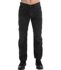 corduroy regular fit pants jeans