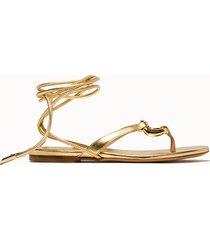 giacouture sandali levante colore oro