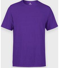 męska koszulka (bez nadruku, gładka) - fioletowa