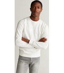 basic katoenen sweatshirt