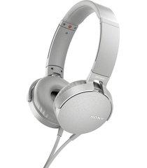 audifonos sony mdr-xb550ap extra bass blanco originales