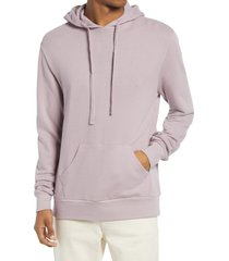 men's alternative men's challenger washed french terry pullover hoodie, size xx-large - purple