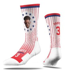strideline men's bryce harper action crew socks