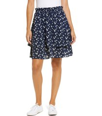 women's gibsonlook tiered mini skirt