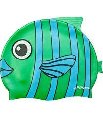 gorro silicona animales pez esmeralda finis usa - verde