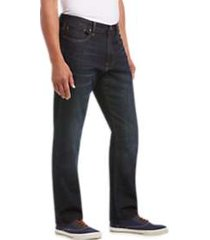 lucky brand 410 barrite dark wash athletic fit jeans