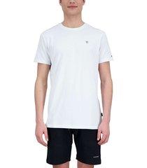 basic outline star t-shirt white true black