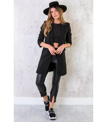 long blazer limited zwart