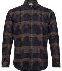 liam nv shirt 12794 overhemd casual blauw samsøe samsøe