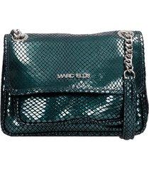 marc ellis rubye m shoulder bag in green leather